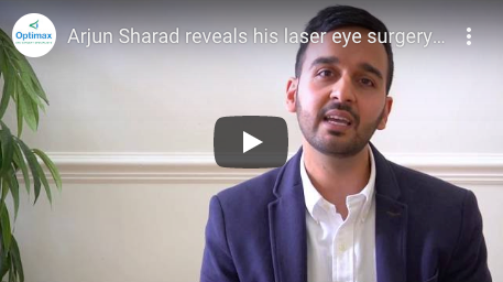 Arjun Sharad reveals his laser eye surgery experience at Optimax