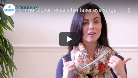 Emma Glover reveals her laser eye surgery experience at Optimax