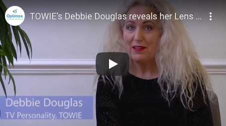 TOWIE's Debbie Douglas reveals her Lens Surgery experience at Optimax