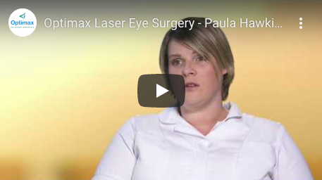 Optimax Laser Eye Surgery - Paula Hawkins' experience