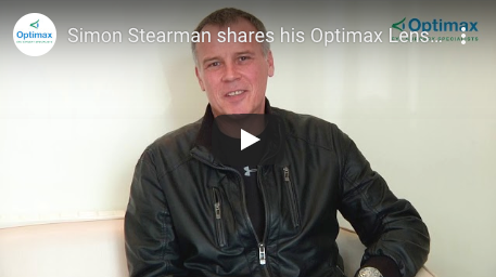 Simon Stearman shares his Optimax Lens Surgery experience