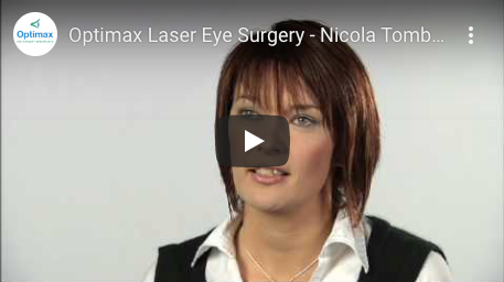 Optimax Laser Eye Surgery - Nicola Tombs' experience